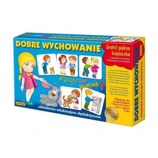 Gra Edukacyjna Dobre wychowanie - Zestaw edukacyjny