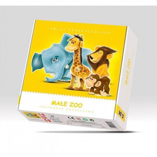 Gra Edukacyjna Małe Zoo JAWA