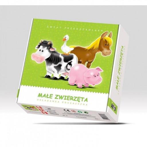 Gra Edukacyjna Małe Zwierzęta JAWA