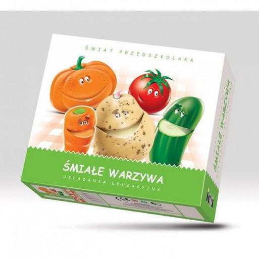 Gra Edukacyjna Śmiałe Warzywa JAWA