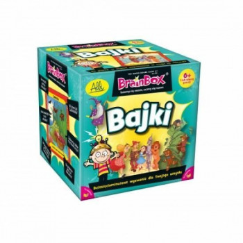 Gra Edukacyjna BrainBox Bajki ALBI