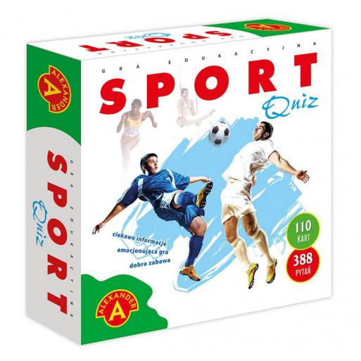 Gra Edukacyjna Quiz - Sport (big) ALEX