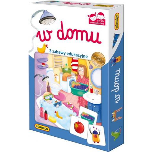 Gra Edukacyjna W domu - zestaw edukacyjny