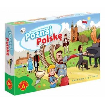 Gra Edukacyjna Poznaj Polskę ALEX