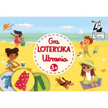 Gra Edukacyjna Kapitan Nauka. Gra Loteryjka Ubrania 3+