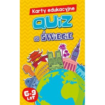 Gra Edukacyjna Karty edukacyjne. Quiz o świecie