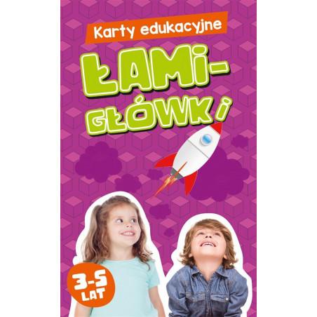 Gra Edukacyjna Karty edukacyjne. Łamigłówki 3-5 lat