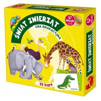 Gra Edukacyjna Świat Zwierząt