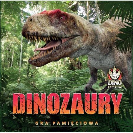 Gra Edukacyjna Dinozaury gra pamięciowa JACOBSONY