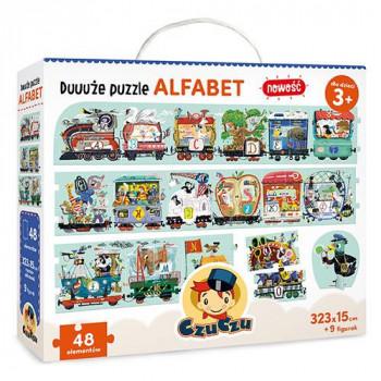 Gra Edukacyjna Duże puzzle Alfabet 3+