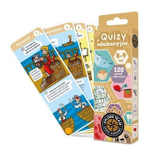 Gra Edukacyjna Xplore Team Quizy dla dzieci 8-9 lat