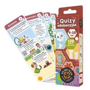 Gra Edukacyjna Xplore Team Quizy dla dzieci 9-10 lat