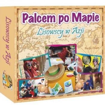 Gra Edukacyjna Palcem po mapie - Lisowscy w Azji ABINO