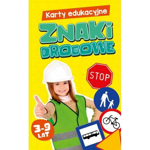 Gra Edukacyjna Karty edukacyjne. Znaki drogowe