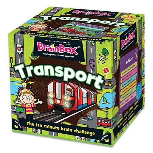 Gra Edukacyjna BrainBox Transport ALBI