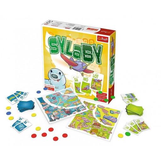 Gra Edukacyjna Sylaby/Duża edukacja TREFL