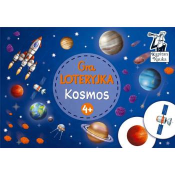 Gra Edukacyjna Kapitan Nauka. Gra - Loteryjka Kosmos 4+