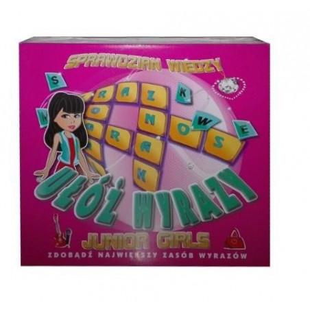 Gra Edukacyjna Ułóż wyrazy junior girls FAN