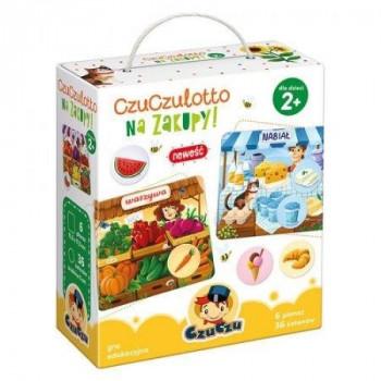 Gra Edukacyjna CzuCzulotto Na zakupy!