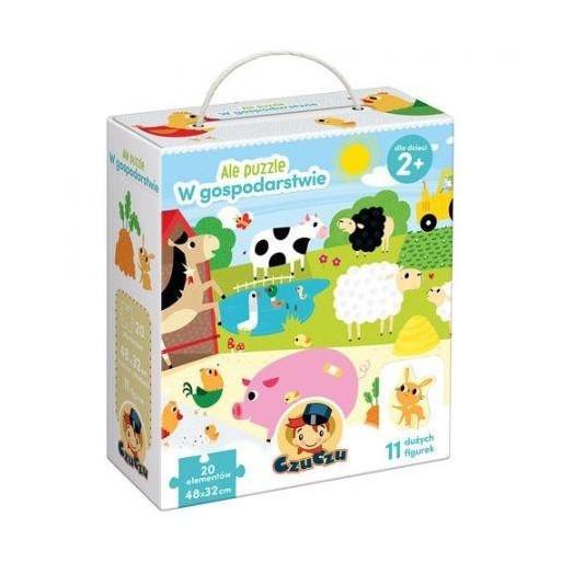 Gra Edukacyjna Ale puzzle W gospodarstwie
