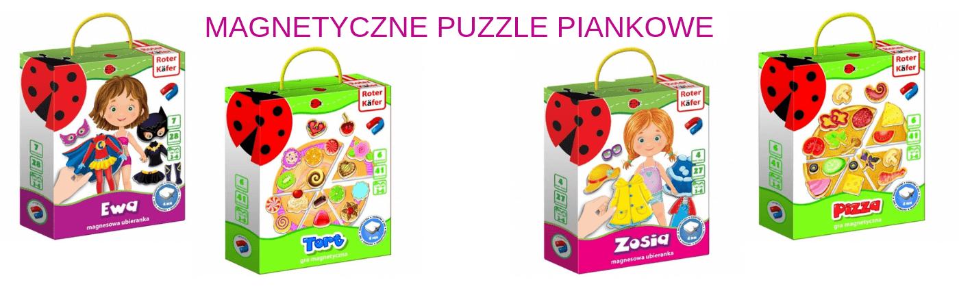 Magnetyczne Puzzle Piankowe dla Najmłodszych